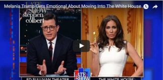 Melania Trump Gets Emotional About Moving Into The White House