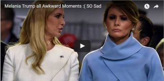 Melania Trump all Awkward Moments