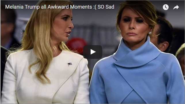 Melania Trump all Awkward Moments