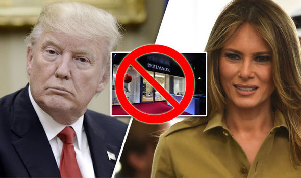 Melania Trump has been reported to have been stopped from attending a shopping trip while on tour Photo C GETTY IMAGES
