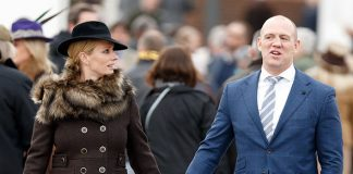 Mike married Zara Phillips in 2011 Photo C GETTY IMAGES