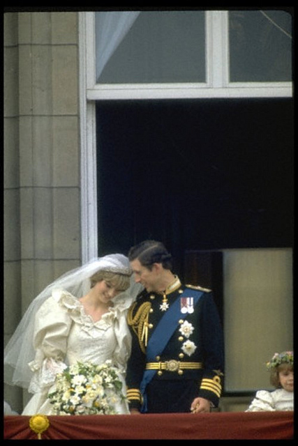29 Jul 1981 --- MARRIAGE OF CHARLES AND DIANA --- Image by © CORBIS SYGMA
