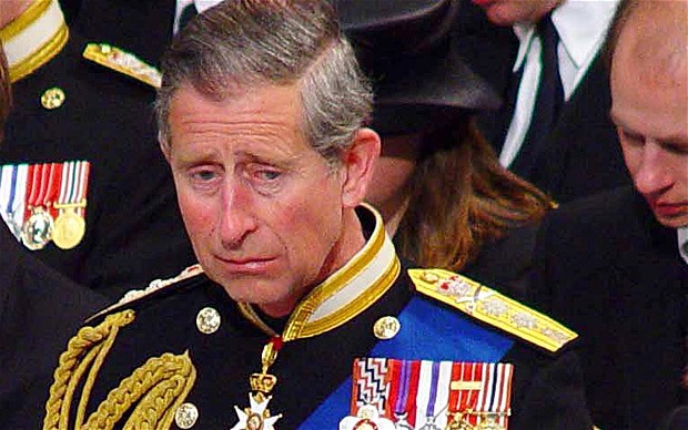 Prince Charles is crying photo (C) GETTY IMAGES