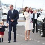 Prince George Prince William Duchess Of Cambridge Kate Middleton and Princess Charlotte Getty