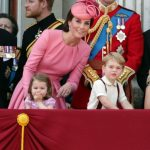 Prince George and Princess Charlotte were spotted on the balcony of Buckingham Palace to celebrate the Queen's 91st birthday Photo PA