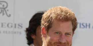 Prince Harry arrives to take part in the Sentebale Royal Salute Polo Cup at the Singapore Polo Club