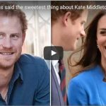 Prince Harry has said the sweetest thing about Kate Middleton