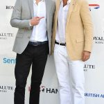 Prince Harry meets Nacho Figueras Sentebale Royal Salute Polo Cup. The event usually features international professional players and talented amateurs