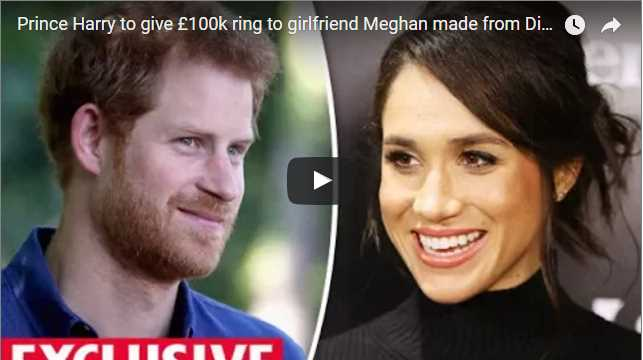 Prince Harry to give £100k ring to girlfriend Meghan made from Dianas jewels
