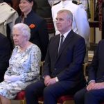 Prince Harry took a photo with the Queen and the winners before interviewing some of them Photo C BBC