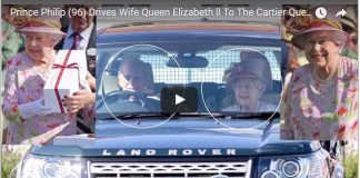 Prince Philip 96 Drives Wife Queen Elizabeth ll To The Cartier Queens Cup Polo Final 2017
