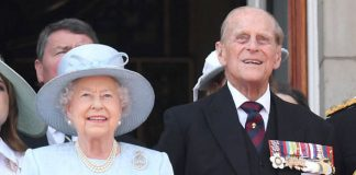 Prince Philip attending the TRooping of the Colour alongside the Queen on Saturday Photo C GETTY