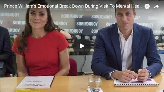 Prince William's Emotional Break Down During Visit To Mental Health Helpline