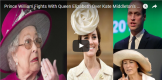 Prince William Fights With Queen Elizabeth Over Kate Middleton's Mother Carole and He Backs Down