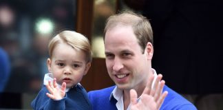 Prince William and Prince George Photo C GETTY IMAGES