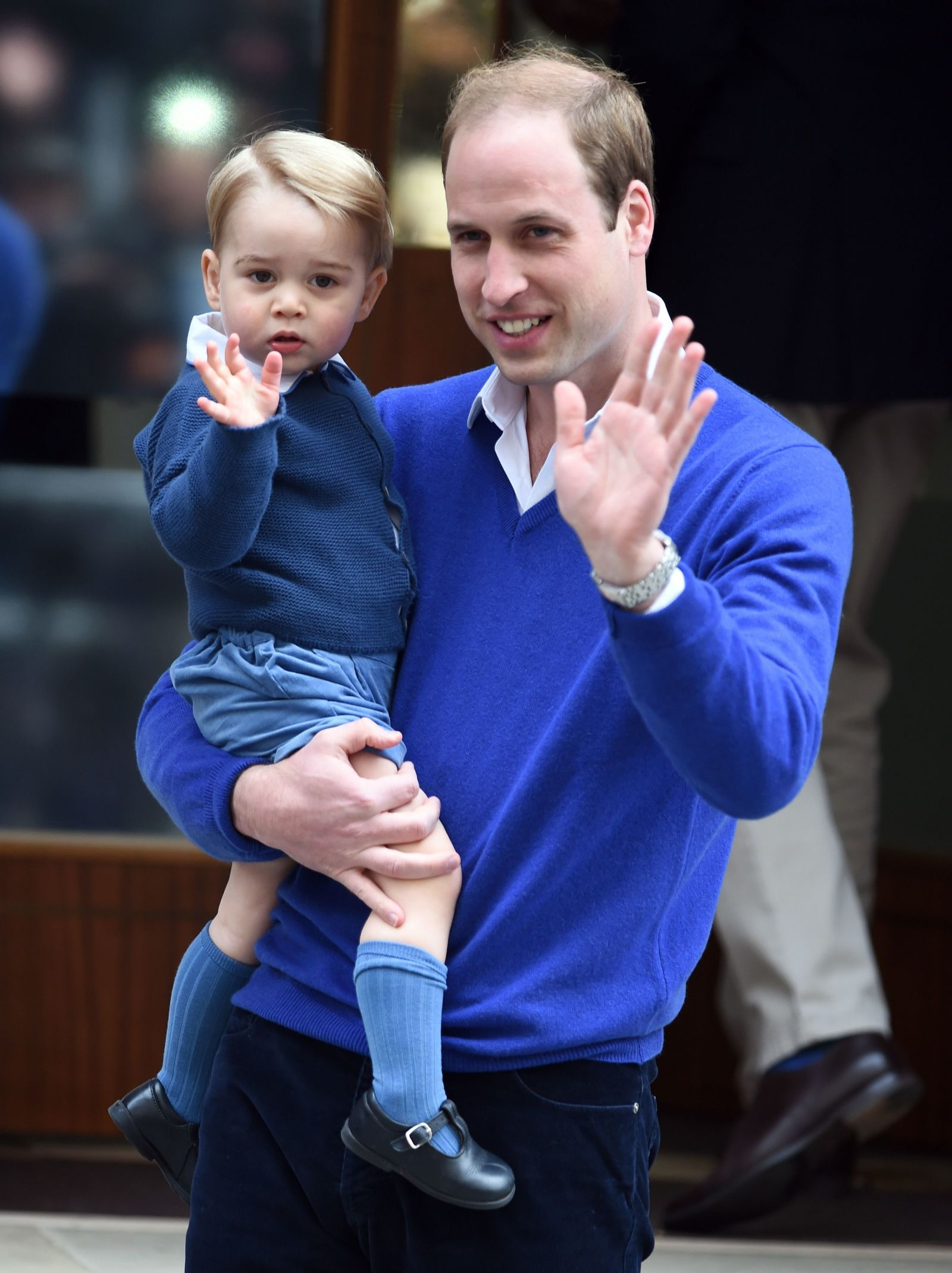 Prince William and Prince George Photo (C) GETTY IMAGES