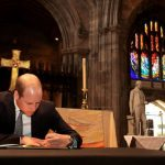 Prince William signed a book of condolences Photo C GETTY IMAGES