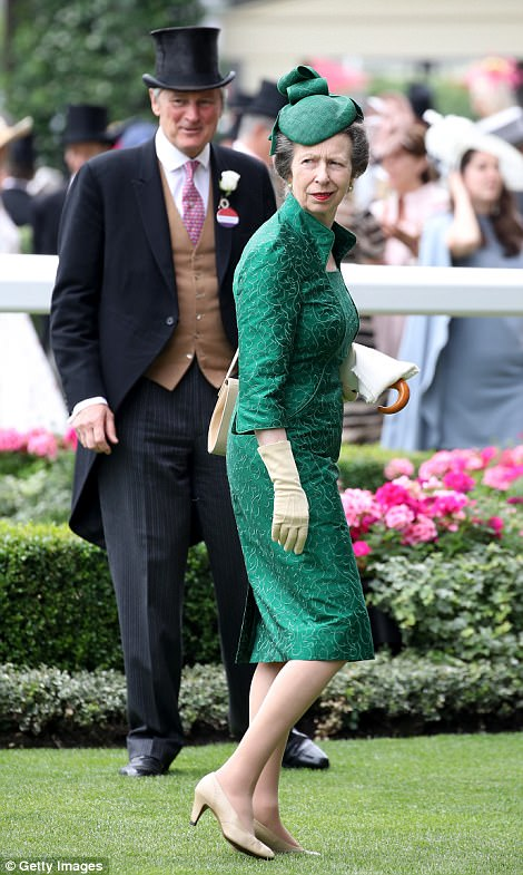 Princess Anne, who is a lifelong racing fan, has been a regular fixture at Ascot this week