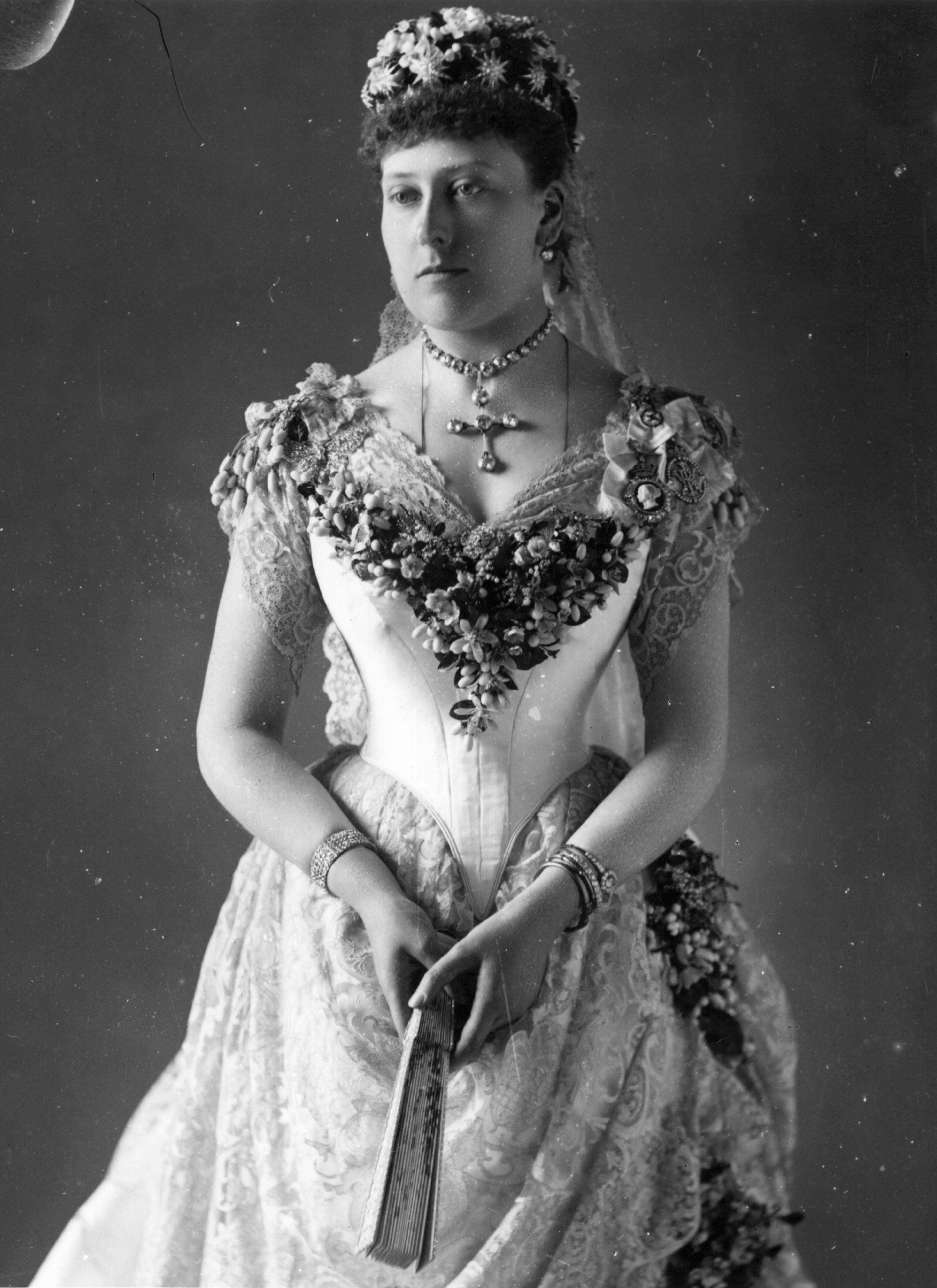 circa 1885: Princess Beatrice, (1857 - 1944), the youngest daughter of Queen Victoria. She married Prince Henry of Battenberg in 1885. (Photo by Hulton Archive/Getty Images)