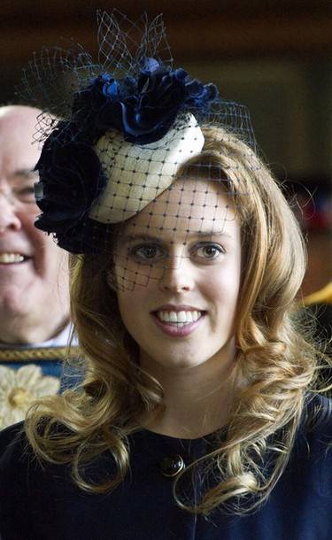 Princess Beatrice of York attendS the Royal Maundy Service at York Minster in York, northern England, April 5, 2012. During the Royal Maundy Service the queen distributed the Maundy money to 86 women and 86 men ? one for each of the queen's 86 years. AFP PHOTO / POOL / ARTHUR EDWARDS (Photo credit should read ARTHUR EDWARDS/AFP/Getty Images)