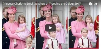 Princess Charlotte Trooping