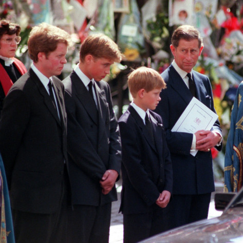 Princess Diana Funeral Photo (C) GETTY IMAGES
