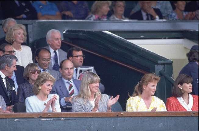 Wimbledon Credit: Heinz Kluetmeier SetNumber: X38481
