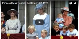 Princess Diana Trooping the Colour 1981 1992