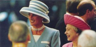 Princess Diana and Queen Elizabeth Photo C GETTY IMAGES