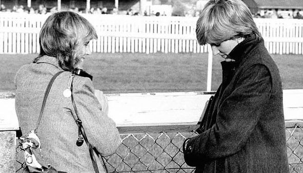 Princess Diana first met Camilla when she was very young but she grew in confidence Photo (C) GETTY