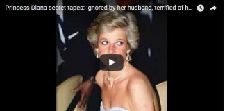 Princess Diana secret tapes Ignored by her husband, terrified of her public role