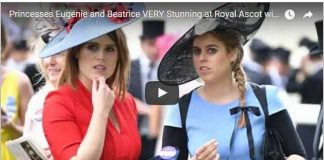 Princesses Eugenie and Beatrice VERY Stunning at Royal Ascot with the royal family