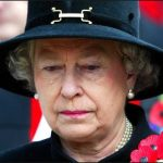 Queen Elizabeth II sheds a tear during the Field of Remembrance Service at Westminster Abbey London Photo C GETTY IMAGES