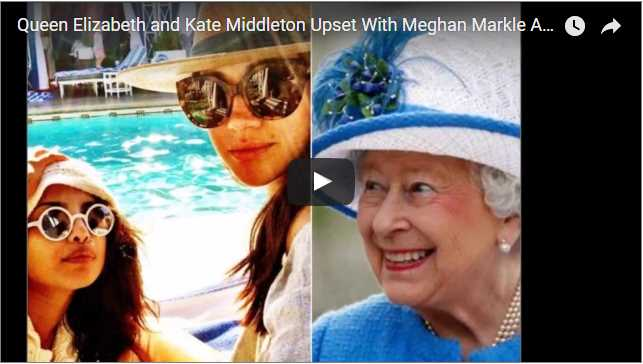 Queen Elizabeth and Kate Middleton Upset With Meghan Markle And Prince Harry