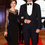 Queen Letizia and Felipe She was a successful journalist before she married Felipe when she was 32 Photo C GETTY