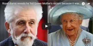 Royal diarist reveals he 'hid Queen Mother's racism' because it was too awful