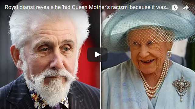 Royal diarist reveals he hid Queen Mothers racism because it was too awful