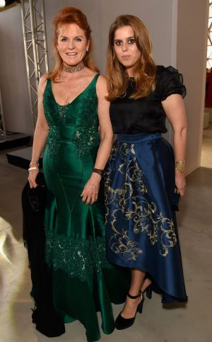 Sarah Ferguson, Duchess of York and her daughter Princess Beatrice of York attended the Fashion for Relief event during the Cannes Film Festival back in May. Photo (C) Antony Jones
