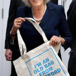 Saving the planet one shopping bag at a time. The Duchess of Cornwall was gifted an eco canvas bag Photo C CHRIS JACKSON WPA POOL GETTY IMAGES