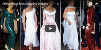 Some Images Never Seen Before Prince Diana Most Dazzling Dresses
