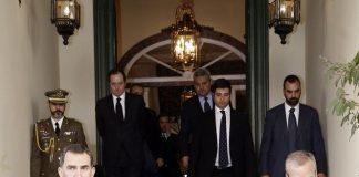 Spanish Royals Sign Book of Condolences at Belgium Embassy Photo C GETTY IMAGES