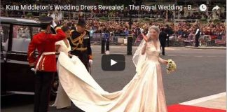 Special Video Kate Middletons Wedding Dress Revealed The Royal Wedding BBC