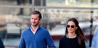 The 33 year old looking suitably stylish in Sydney with her husband James Matthews Photo C GETTY IMAGES