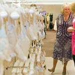 The Duchess of Cornwall paid a visit to the lingerie department of Marks and Spencer in 2009 Photo C LEON NEAL AFP GETTY IMAGES