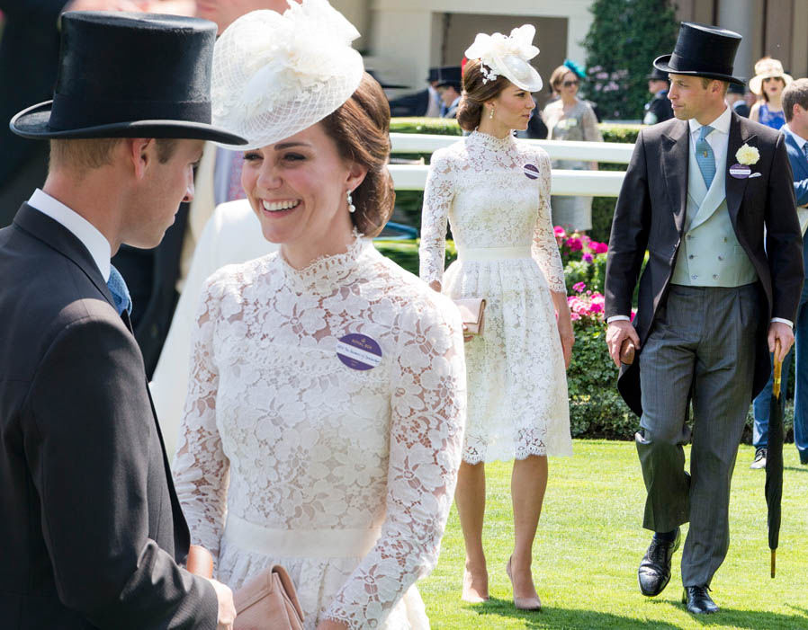 The Duke and Duchess only have eyes for each other at Ascot Photo (C) GETTY IMAGES