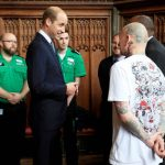 The Duke of Cambridge met first responders and members of the local community Photo C PA