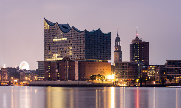 The Elbphilharmonie was designed by the same architects as London's Tate Modern. Photo (C) GETTY IMAGES