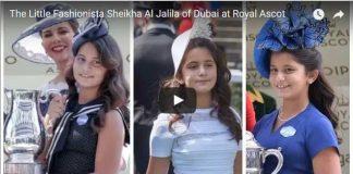 The Little Fashionista Sheikha Al Jalila of Dubai at Royal Ascot