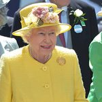 The Queen enjoys a day in the sunshine at the Epsom Derby Photo C GETTY IMAGES