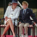 The loss of his mother has gnawed at Prince Harry who is pictured with her in August 1995 and it is little wonder it has taken so long for him to deal with it